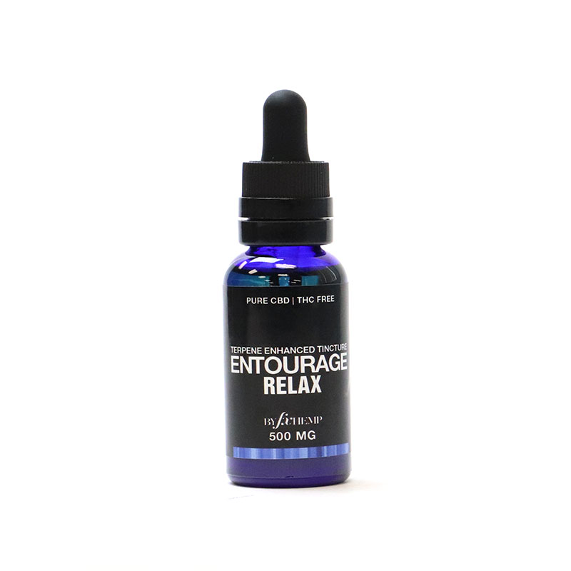 Entourage Relax is blended with CBD and Terpenes shown to help support sleep and relaxation.